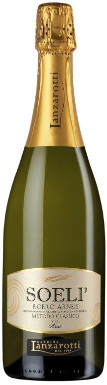 Bottiglia Roero Spumante Soeli - Cascina Lanzarotti