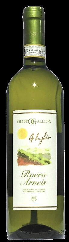 Bottiglia Roero Arneis - Filippo Gallino