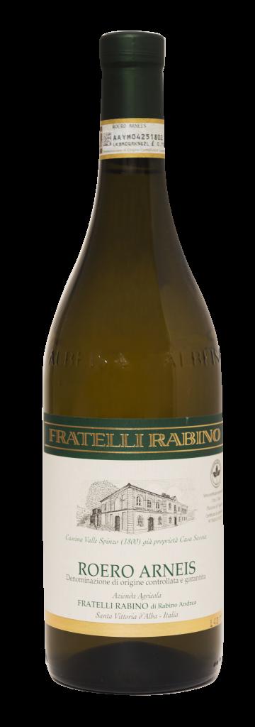 Bottiglia Roero Arneis - Fratelli Rabino