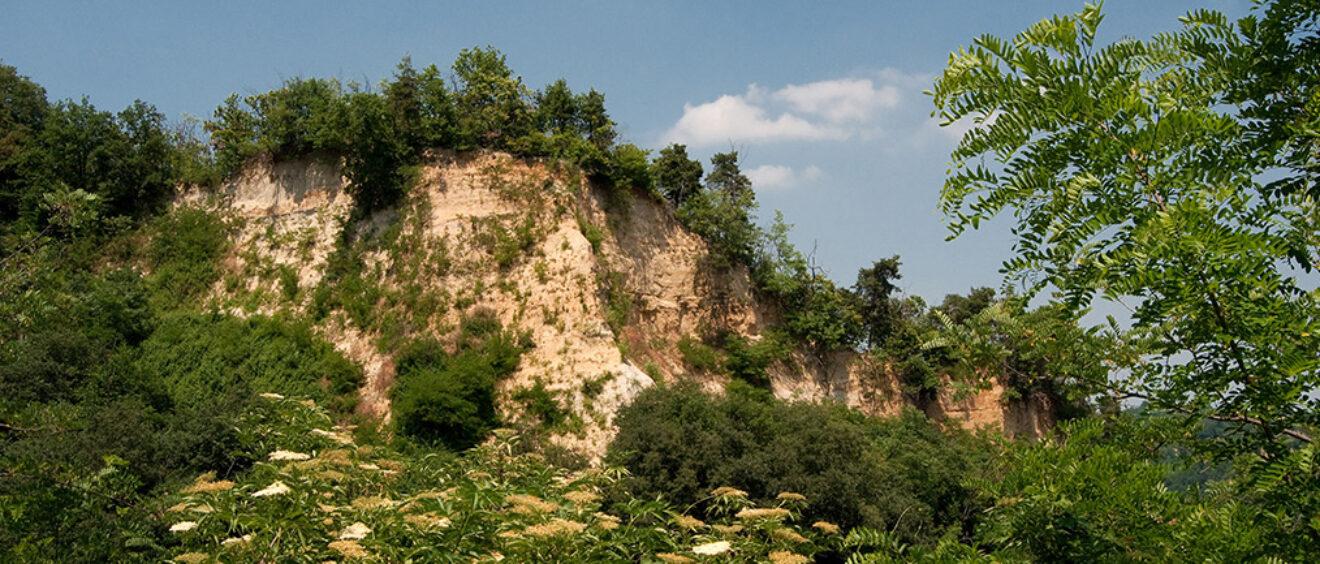 vista delle rocche dal sentiero dei fossili