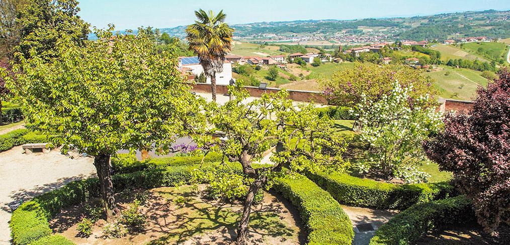 il giardino del castello di Govone
