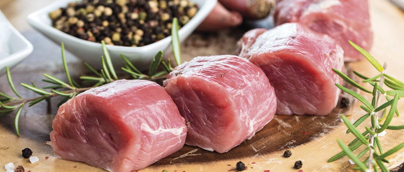 filetti di maiale al roquefort con roero docg