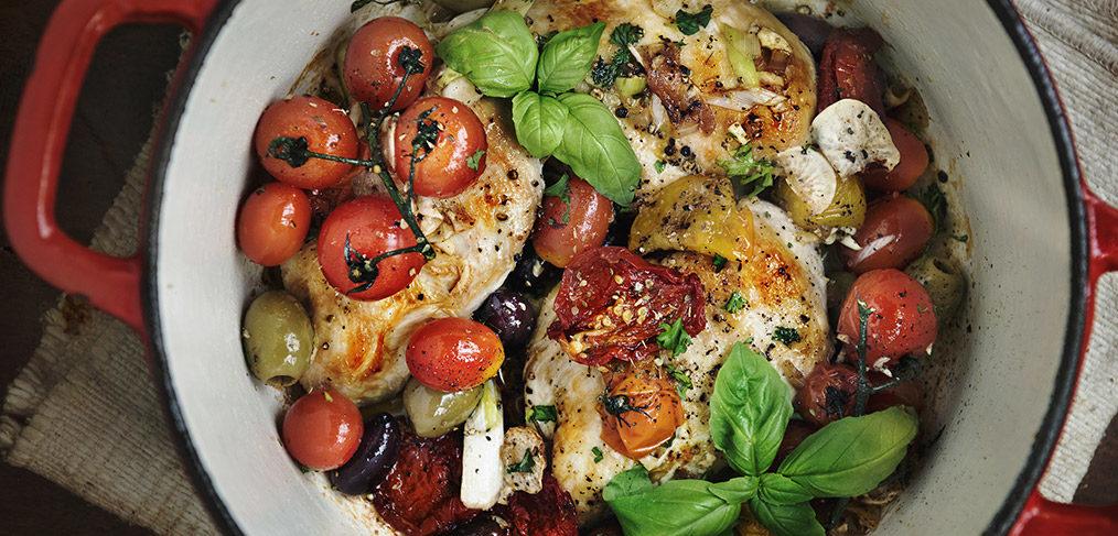 pollo alla siciliana con roero docg