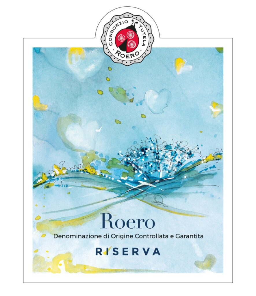 Etichetta Roero Bianco Riserva