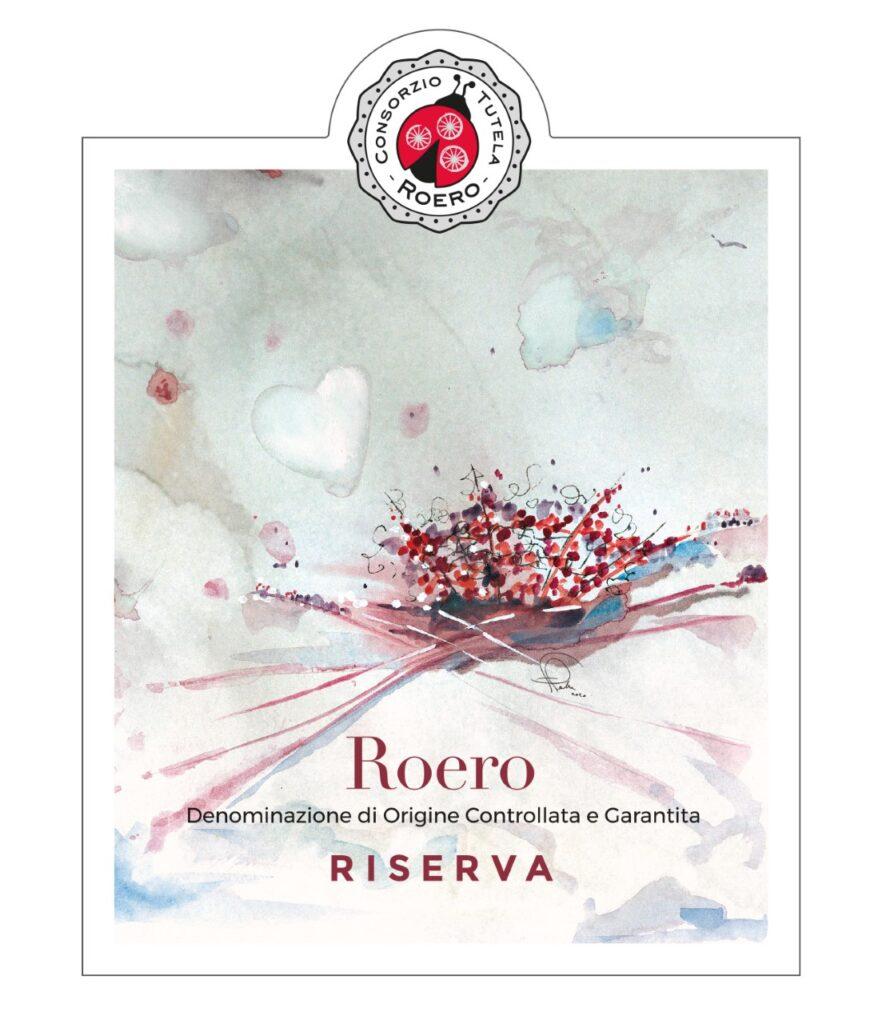 Etichetta Roero Rosso Riserva