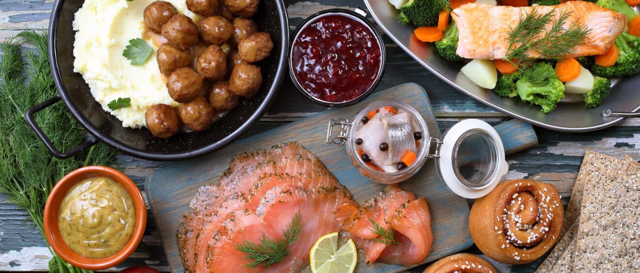 Piatti della cucina svedese